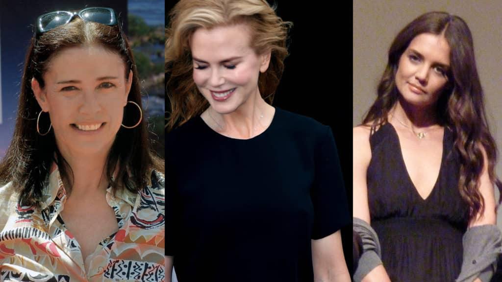Mimi Rogers, Nicole Kidman, and Katie Holmes