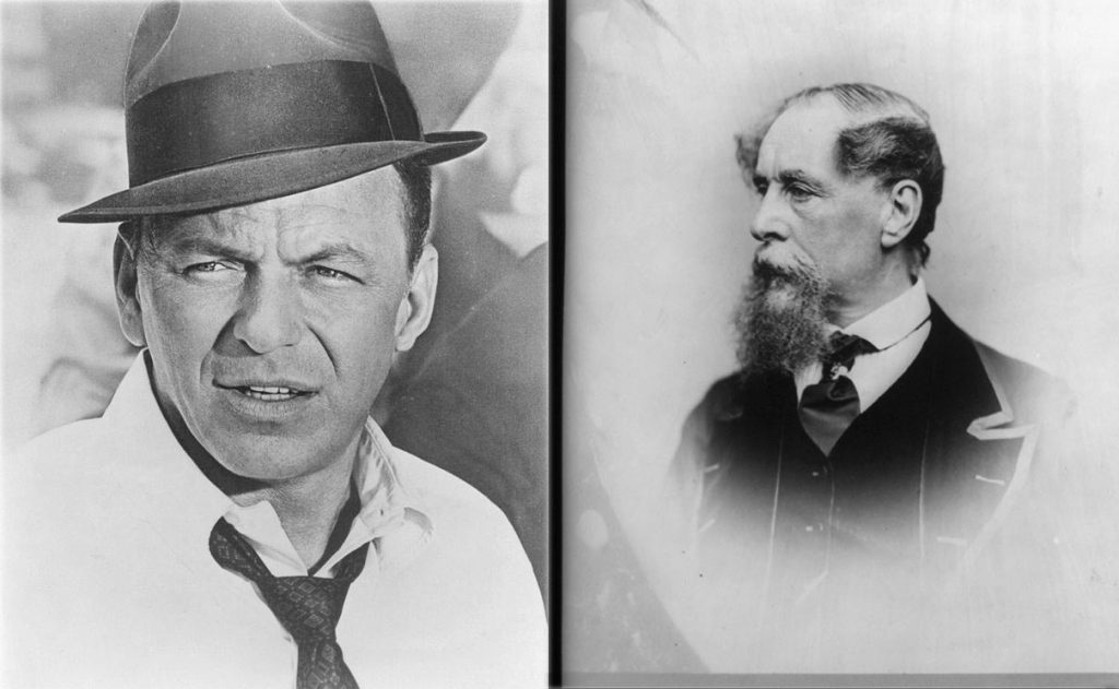 Frank Sinatra and Charles Dickens